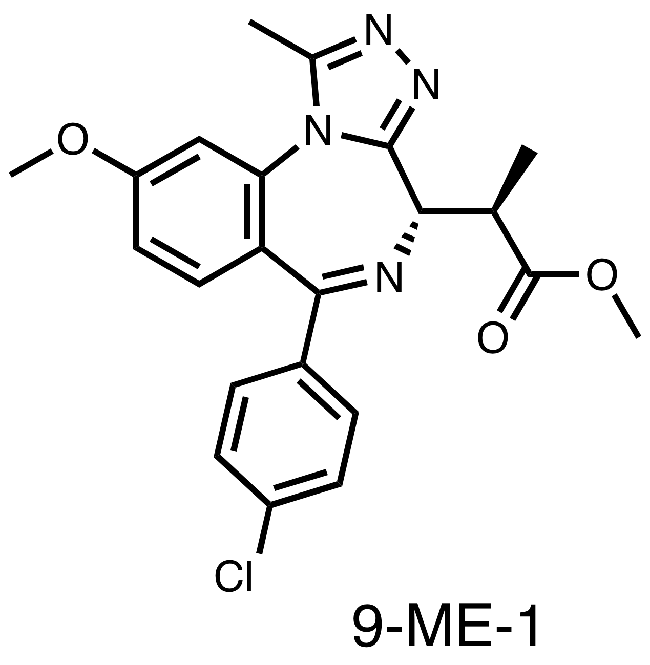 9-ME-1 - Allele-selective BET bromodomain inhibitor