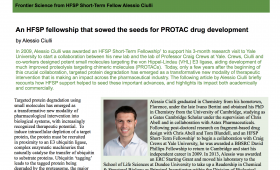HFSP Matters - the Newsletter of the Human Frontier Science Program