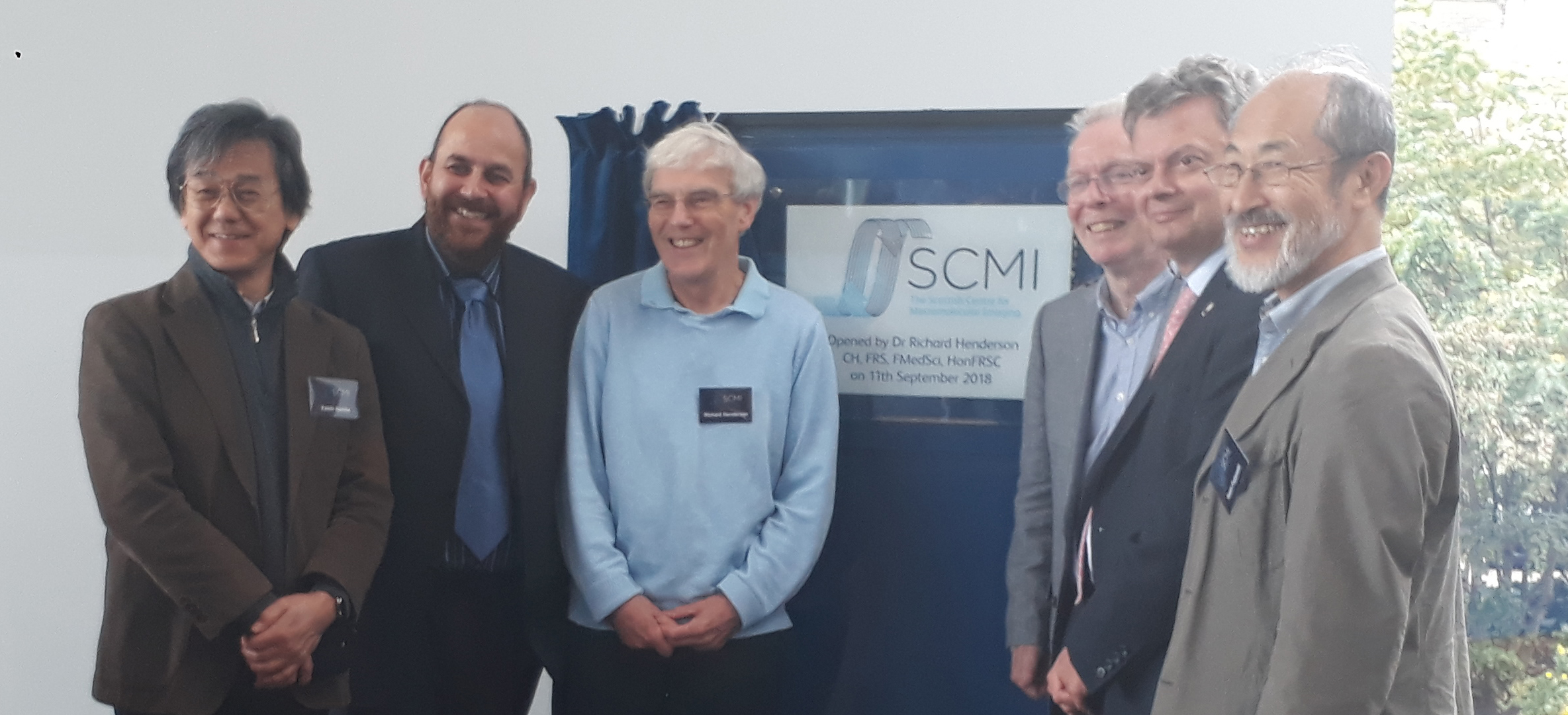 Opening of SCMI in Glasgow