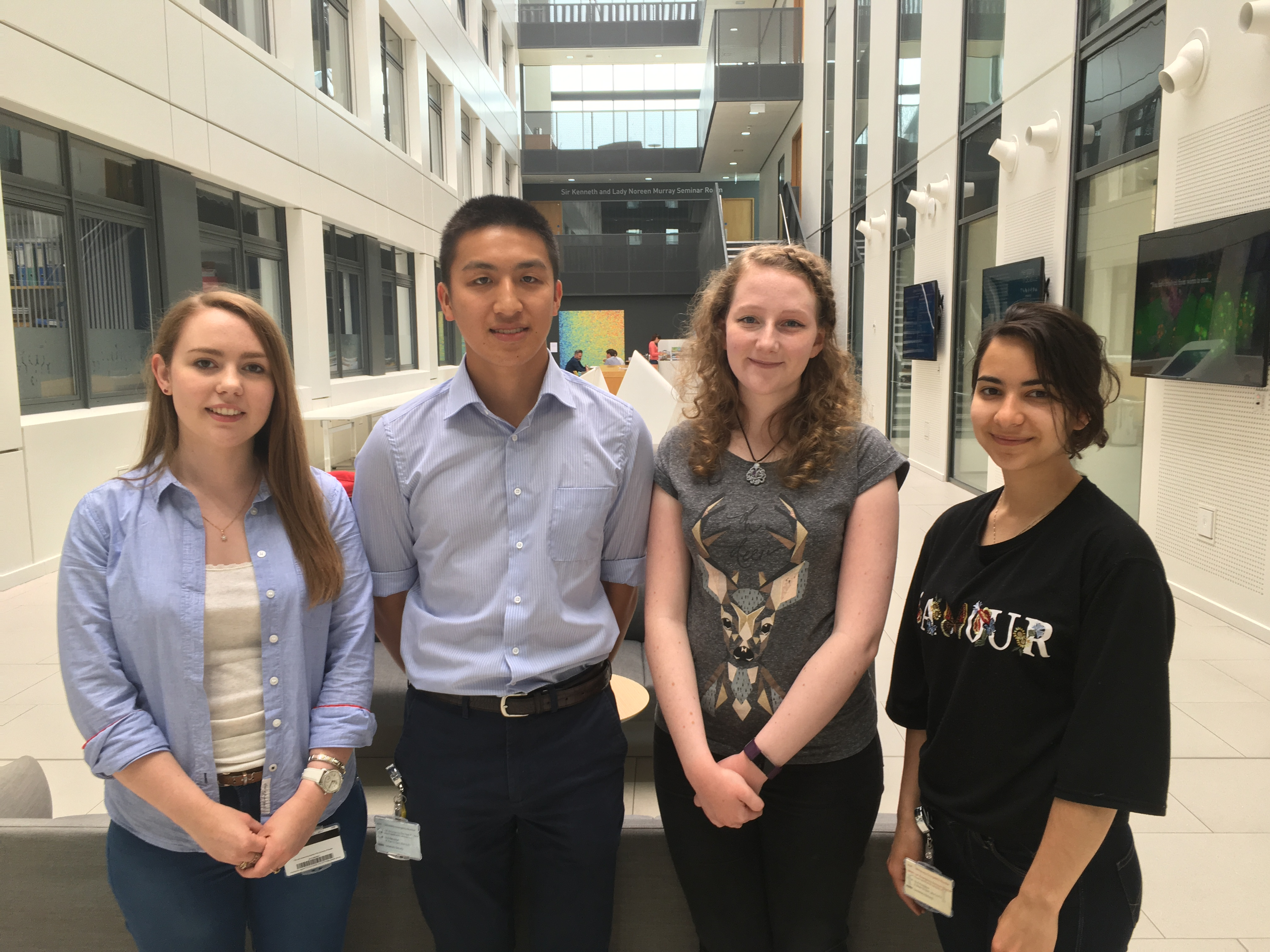 Medical Research Scotland Summer Students