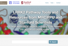 LRRK2 Toolkit website homepage