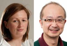 Professors Vicky Cowling and Tomo Tanaka