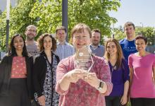 Dr Susan Wyllie and team. Credit: University of Dundee