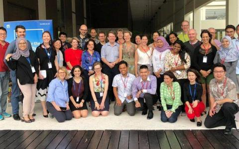 ASEAN Academics Abroad group photo