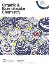 Front cover of Org Biomol Chem, Issue 38