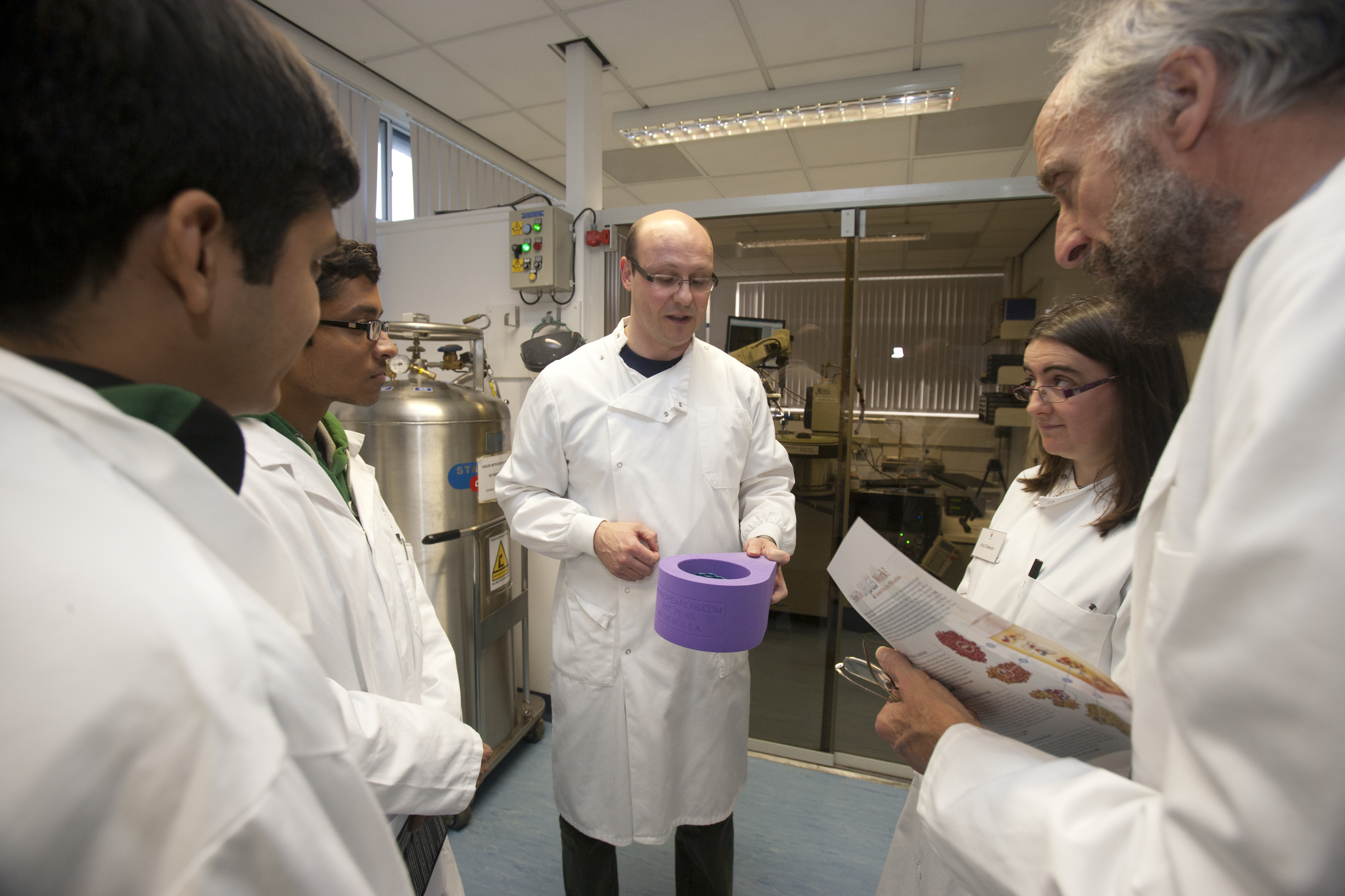 Laboratory Tours at Open Doors Day