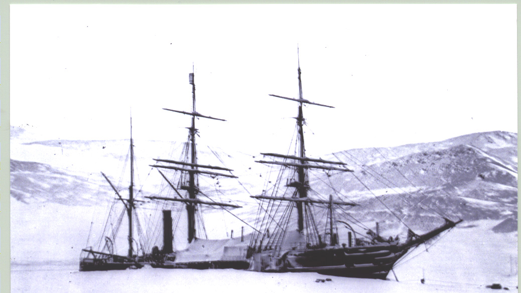 The Discovery in Antarctica (image credit - Dundee Heritage Trust)