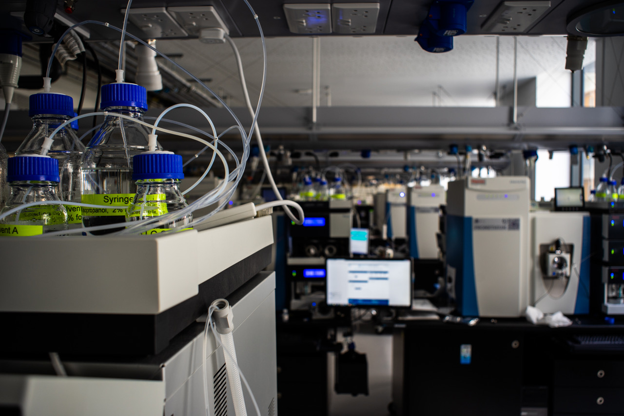 Proteomics Facility in the School of Life Sciences