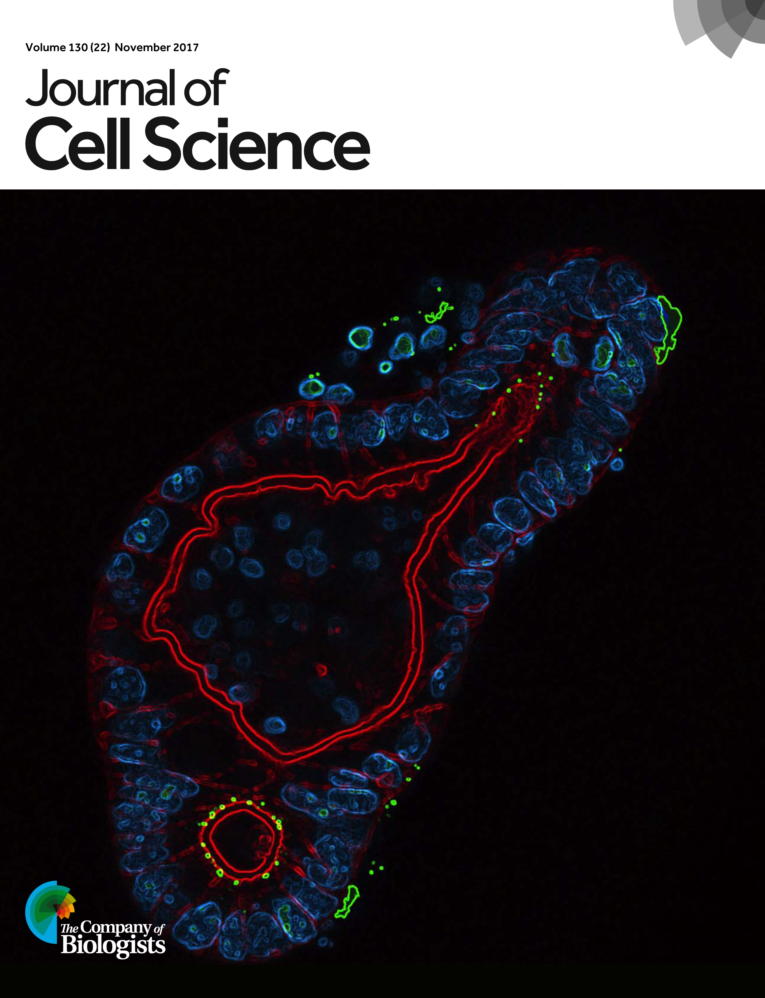 Journal of Cell Science Cover