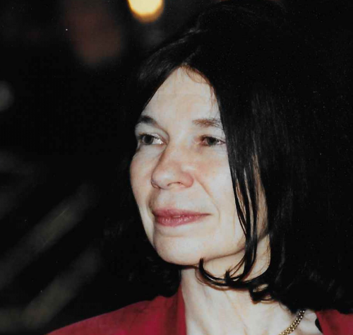 Professor Tricia Cohen at a meeting in New York in 2003